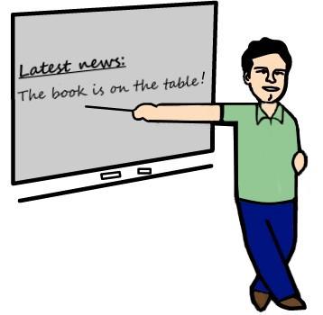 Professor particular de inglês dando aula